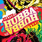 Poster for Hubba Hubba Revue, June June 2012 by caseycastille