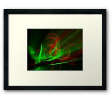 ©NLE Red Green II Framed Print