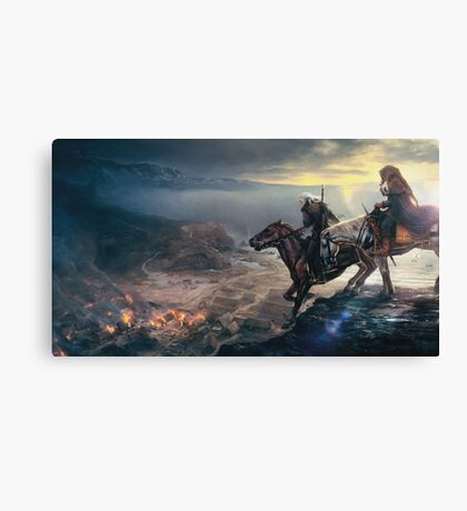 The last wish Canvas Print
