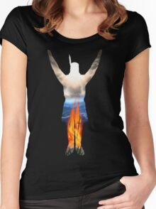 Incandescent! Women's Fitted Scoop T-Shirt