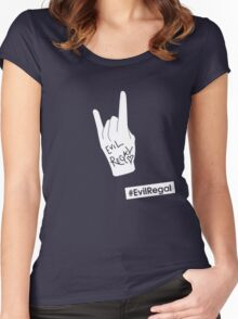 #EvilRegal Women's Fitted Scoop T-Shirt