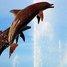 Dolphin Fountain I by sunsetrainbow