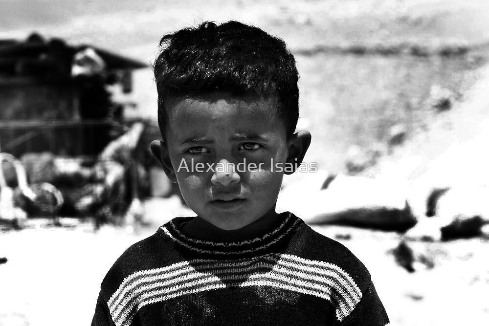 """Bedouin boy"" by Alexander Isaias"