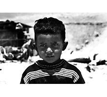 """""""Bedouin boy"""" Photographic Print"""