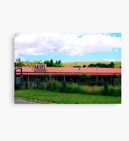 Roadside Motel Canvas Print