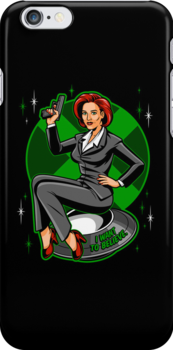X-Philes Pin-Up by harebrained