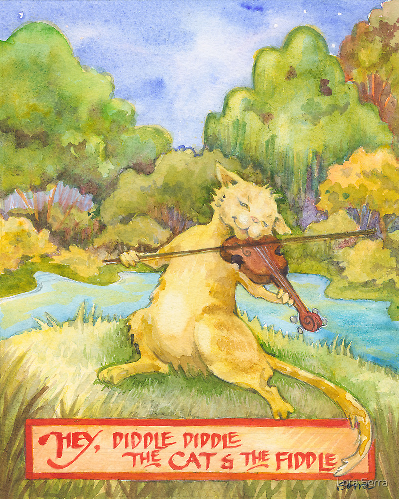 The Cat and the Fiddle by Lora Serra