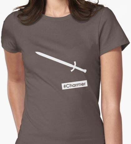 #Charmer Womens Fitted T-Shirt