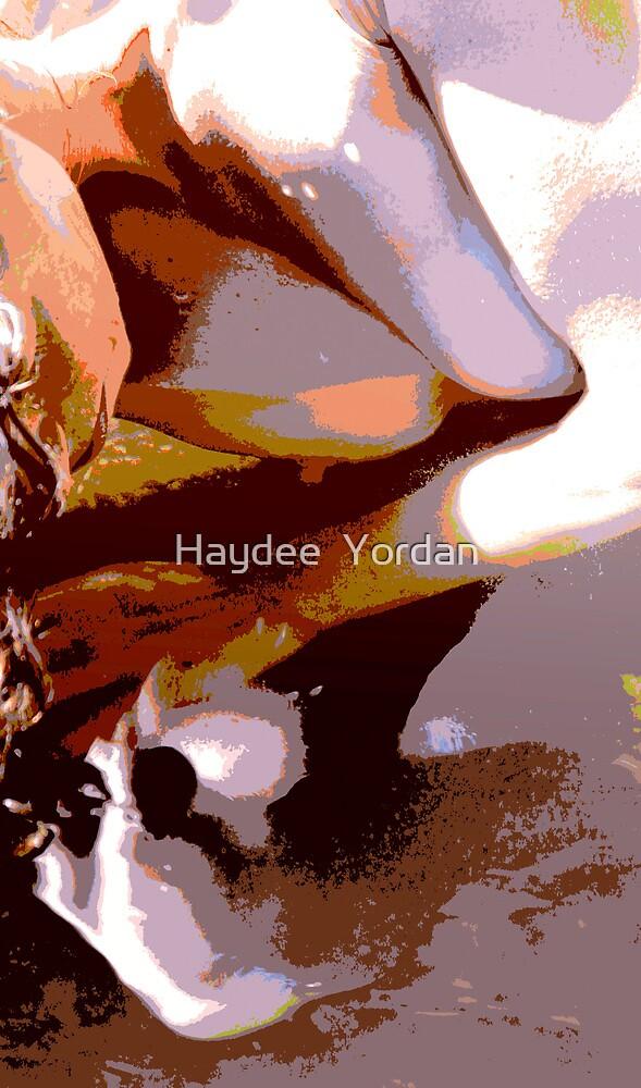 Looking at herself by Haydee  Yordan