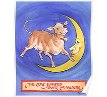 The Cow Jumped Poster