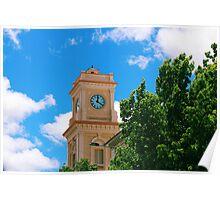 Goulburn Clock Tower Poster