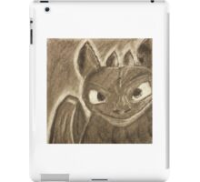 Toothless Charcoal iPad Case/Skin