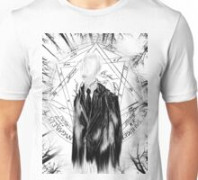 Slenderman (Full T-Shirt Version) Unisex T-Shirt