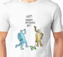 Happy Random Appendage Day Unisex T-Shirt