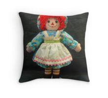Ragdoll Annie Throw Pillow