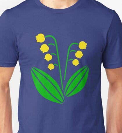Lily of the Valley; Maiglöckchen Unisex T-Shirt