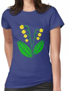 Lily of the Valley; Maiglöckchen Womens Fitted T-Shirt