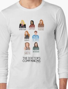 Doctor Who | Companions (alternate version) Long Sleeve T-Shirt