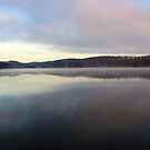 Morning Fog at the Dam by astrochuck