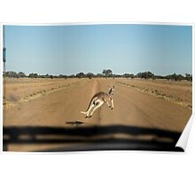 Near miss, Tilpa, Outback NSW Poster