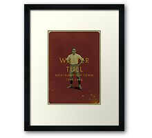 Walter Tull - Northampton Town Framed Print