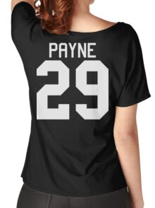 Liam Payne jersey (white text) Women's Relaxed Fit T-Shirt
