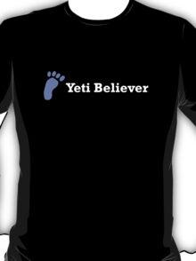 Yeti Believer (white text) T-Shirt