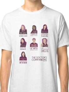 Doctor Who | Companions Classic T-Shirt