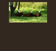 Three Ankole-Watusi Unisex T-Shirt