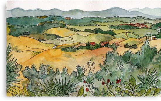 Cecina's Valley by Adolfo Arranz