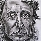 Henry David Thoreau by andrea v