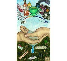 10 of Cups Tarot Card Photographic Print