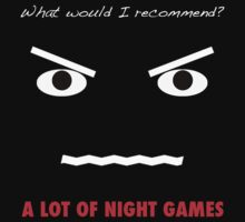 A Lot of Night Games by csztova