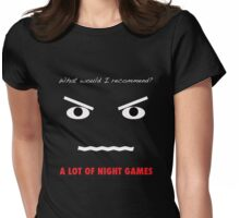 A Lot of Night Games Womens Fitted T-Shirt