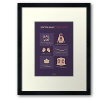 Doctor Who | Story Arcs Framed Print