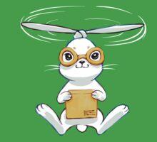 Postal Bunny Baby Tee