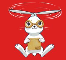 Postal Bunny One Piece - Short Sleeve