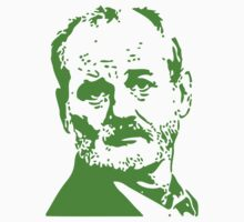 Bill Murray Green by Thomas Jarry