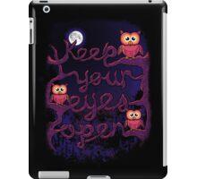 Keep Your Eyes Open iPad Case/Skin