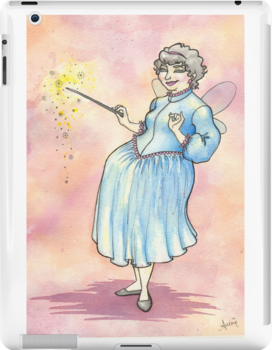 Retro Vintage Styled Fairy Godmother by Beth Aucoin