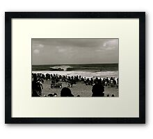 The pipe masters Framed Print