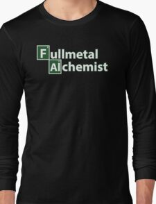 fullmetal alchemist breaking bad  Long Sleeve T-Shirt