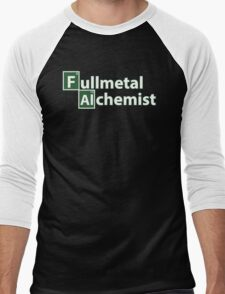 fullmetal alchemist breaking bad  Men's Baseball ¾ T-Shirt