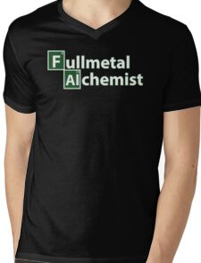 fullmetal alchemist breaking bad  Mens V-Neck T-Shirt