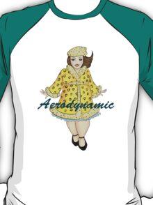 Aerodynamic - The Leopard-print Lady T-Shirt