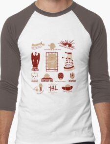 Doctor Who | Aliens & Villains Men's Baseball ¾ T-Shirt