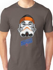 The KnicksTape Strikes Back!! (White) Unisex T-Shirt