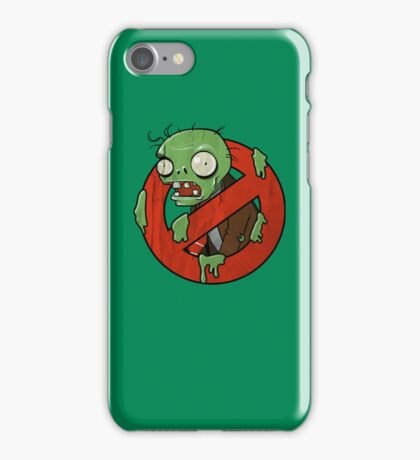 Zombie Buster iPhone Case/Skin