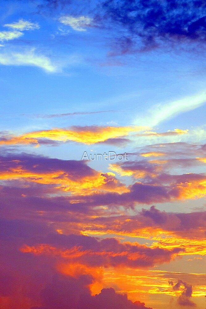Just a Pretty Sunset by AuntDot