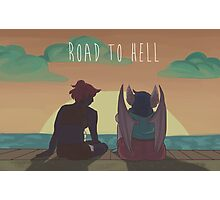 Road to Hell Photographic Print